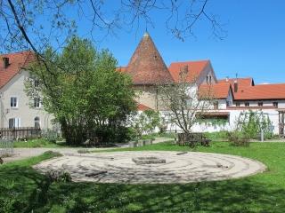 Steingaden - Klostergarten St. Johannes mit Labyrinth