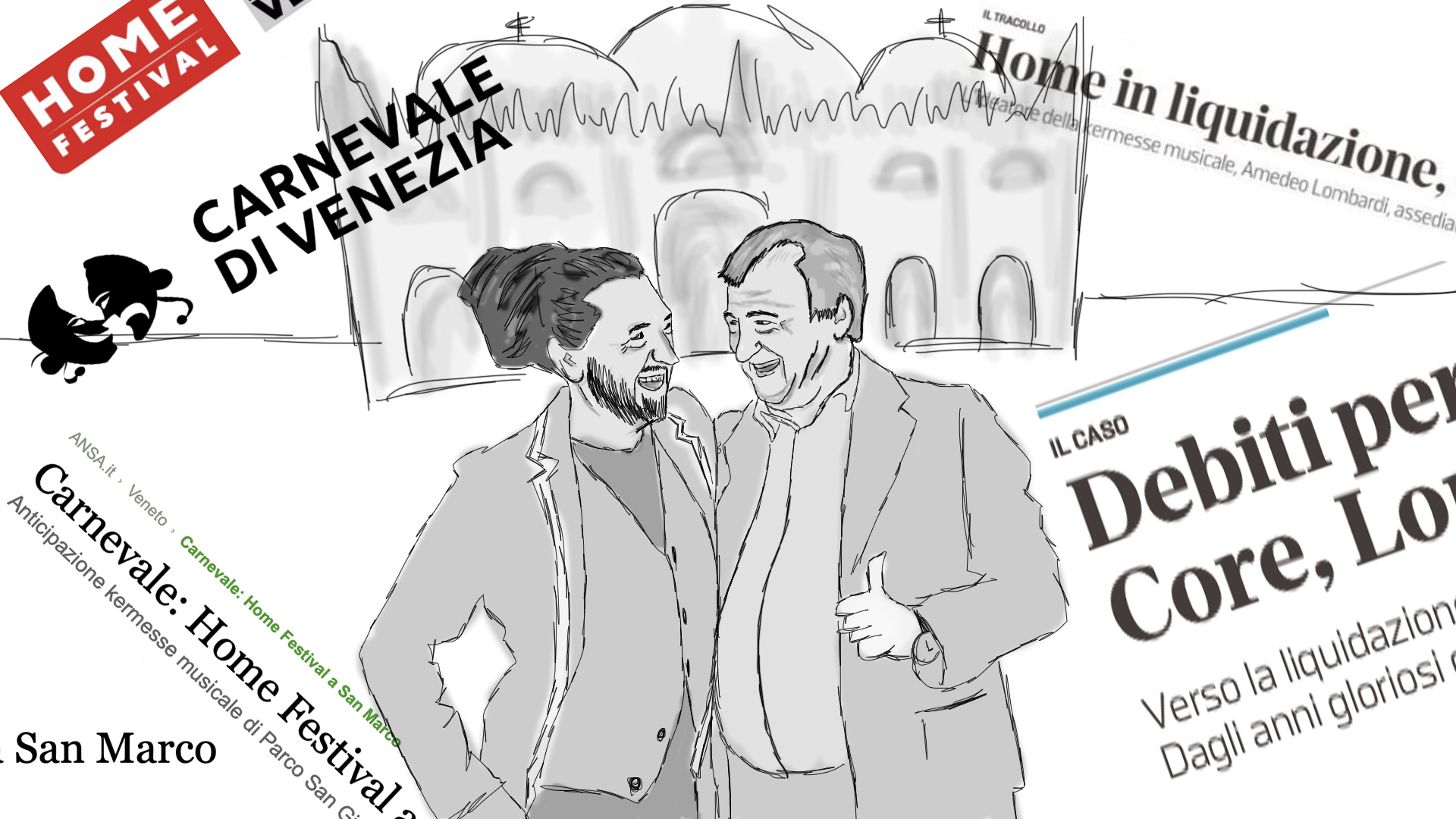 """Il Caso """"Home Festival"""" e il Carnevale di Venezia: Brugnaro batti un colpo!"""