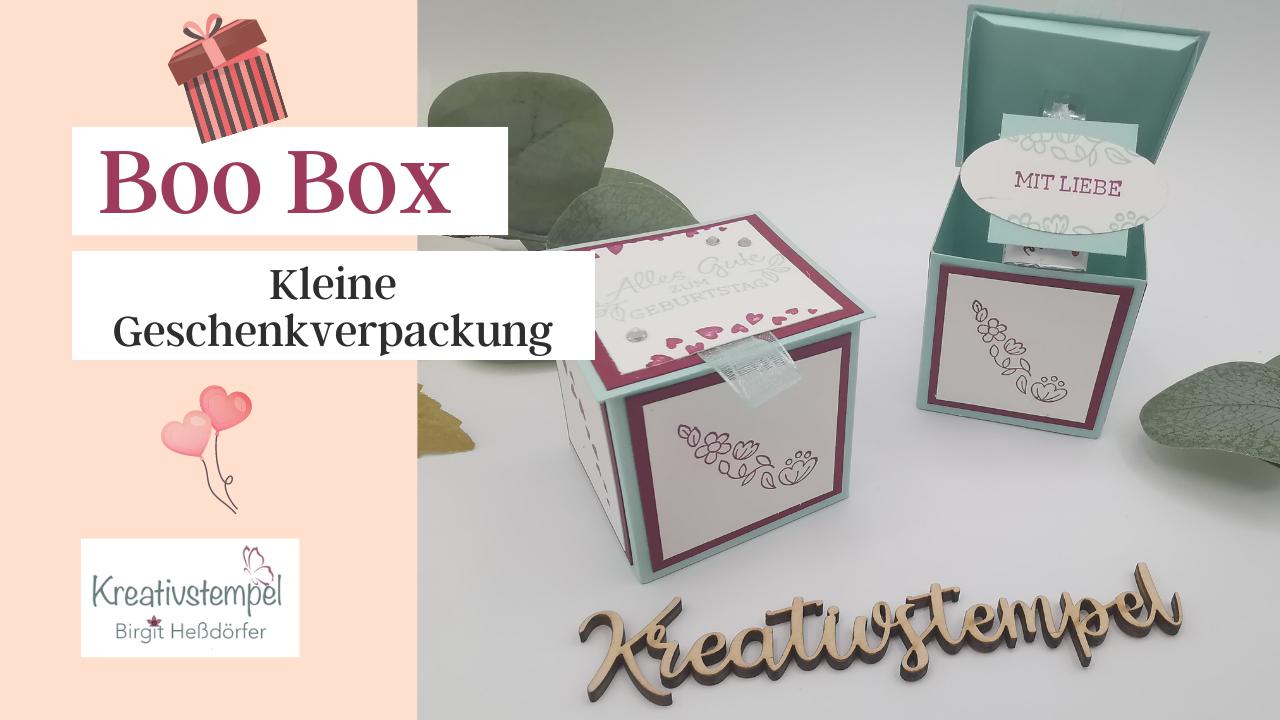 Boo Box - Kleine Geschenkverpackung