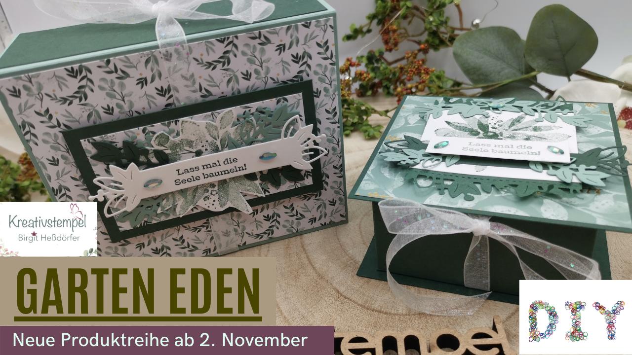 Angebot Garten Eden mit Materialpaketen