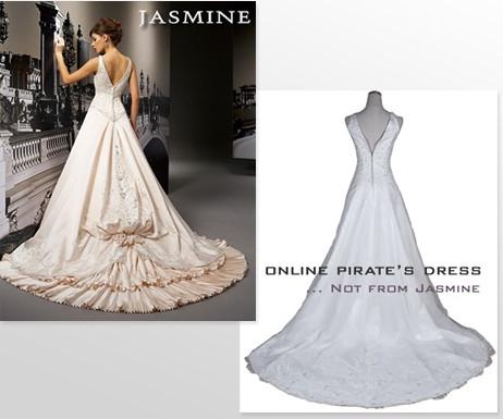 Das Kleid kommt nicht, es wird im Zoll beschlagnahmt, passt nicht oder hat eine mangelhafte Qualität. Dazu zweifelhafte Arbeitsbedingungen in den Fabriken: Wähle Dein Kleid im Fachhandel.