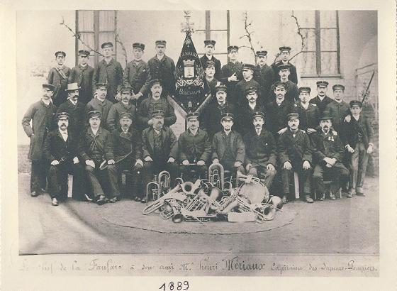 Harmonie en 1889