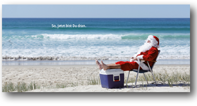 Weihnachtskarte, plan2 werbeagentur metelen