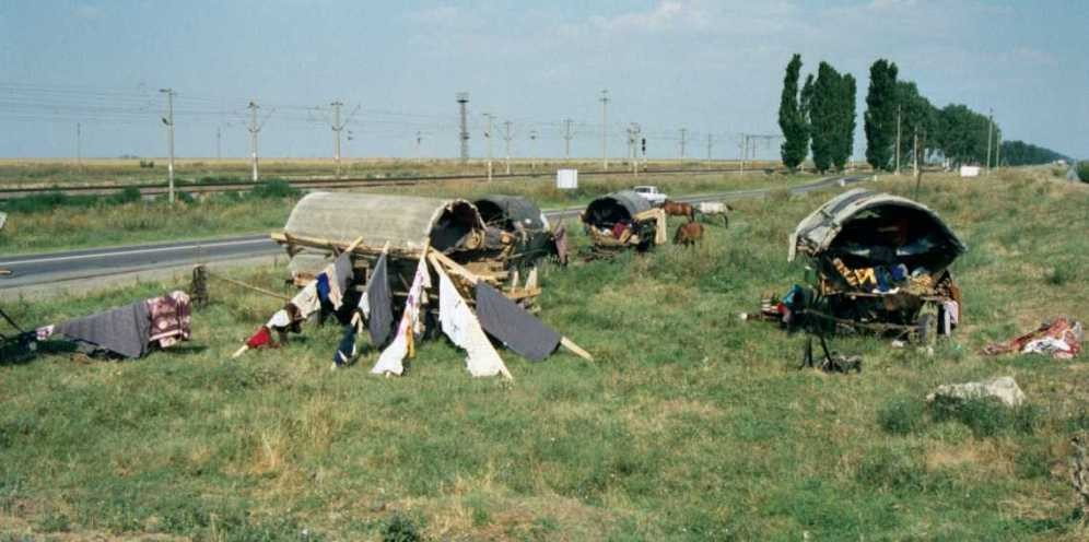 Camp de tsiganes