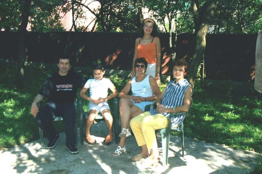 La famille Caia nous accueille