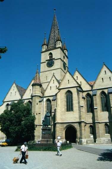 Sibiu: la cathédrale