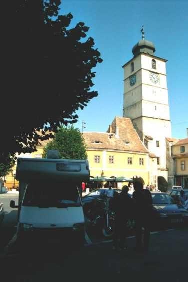 Sibiu: une porte de la ville