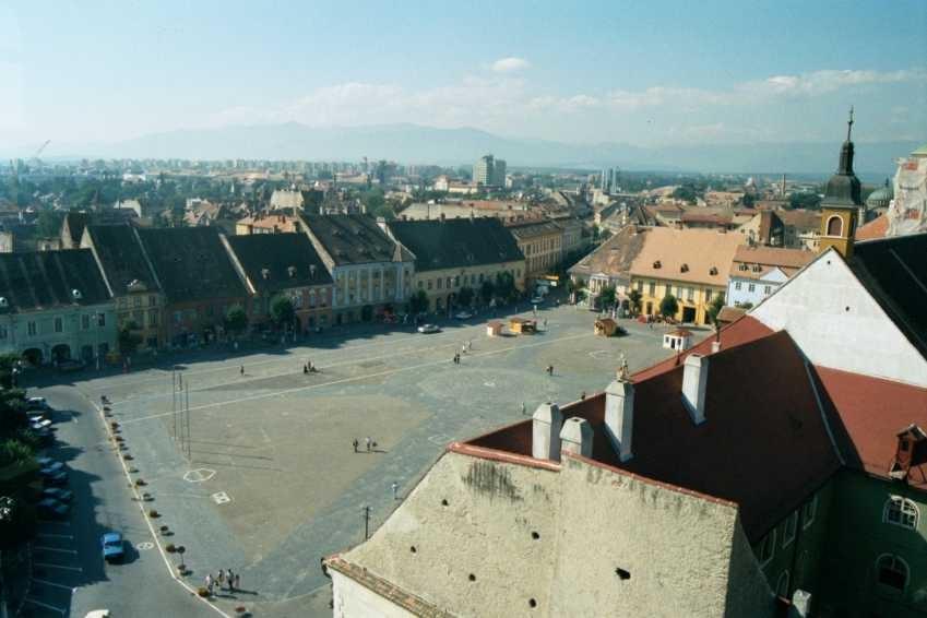 Sibiu: la place