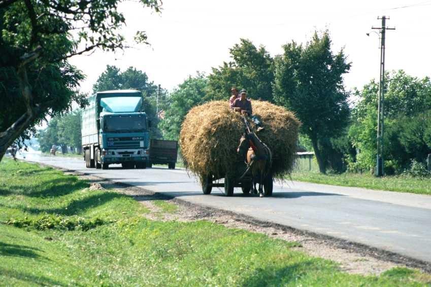 Transports dans les campagnes