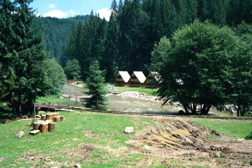 Le camping de la vallée du Vaser