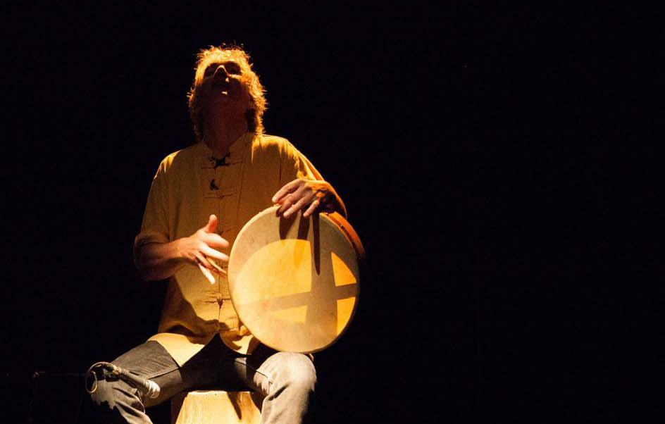 Alain Larribet alias Le Berger des sons © Emilie Labourdette