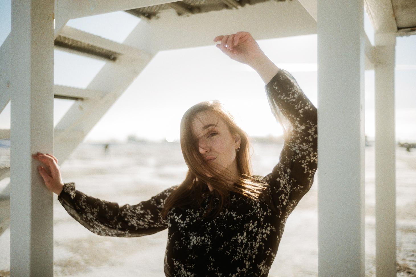 Fotoshooting mit Janin an der Nordsee