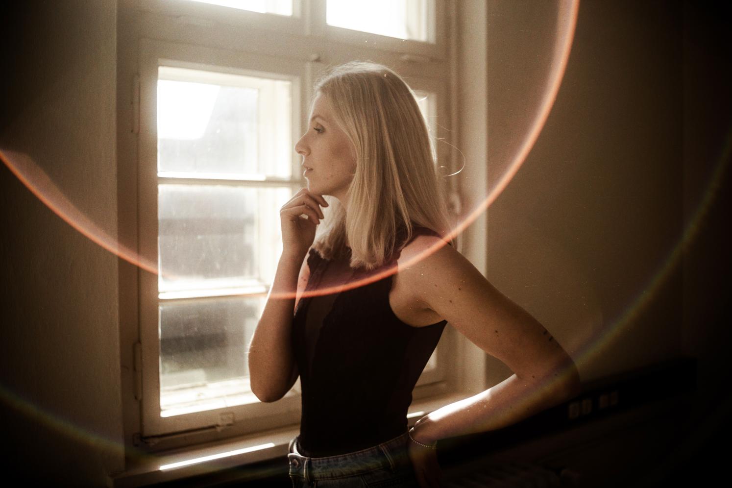 Fotoshooting mit einer Leica