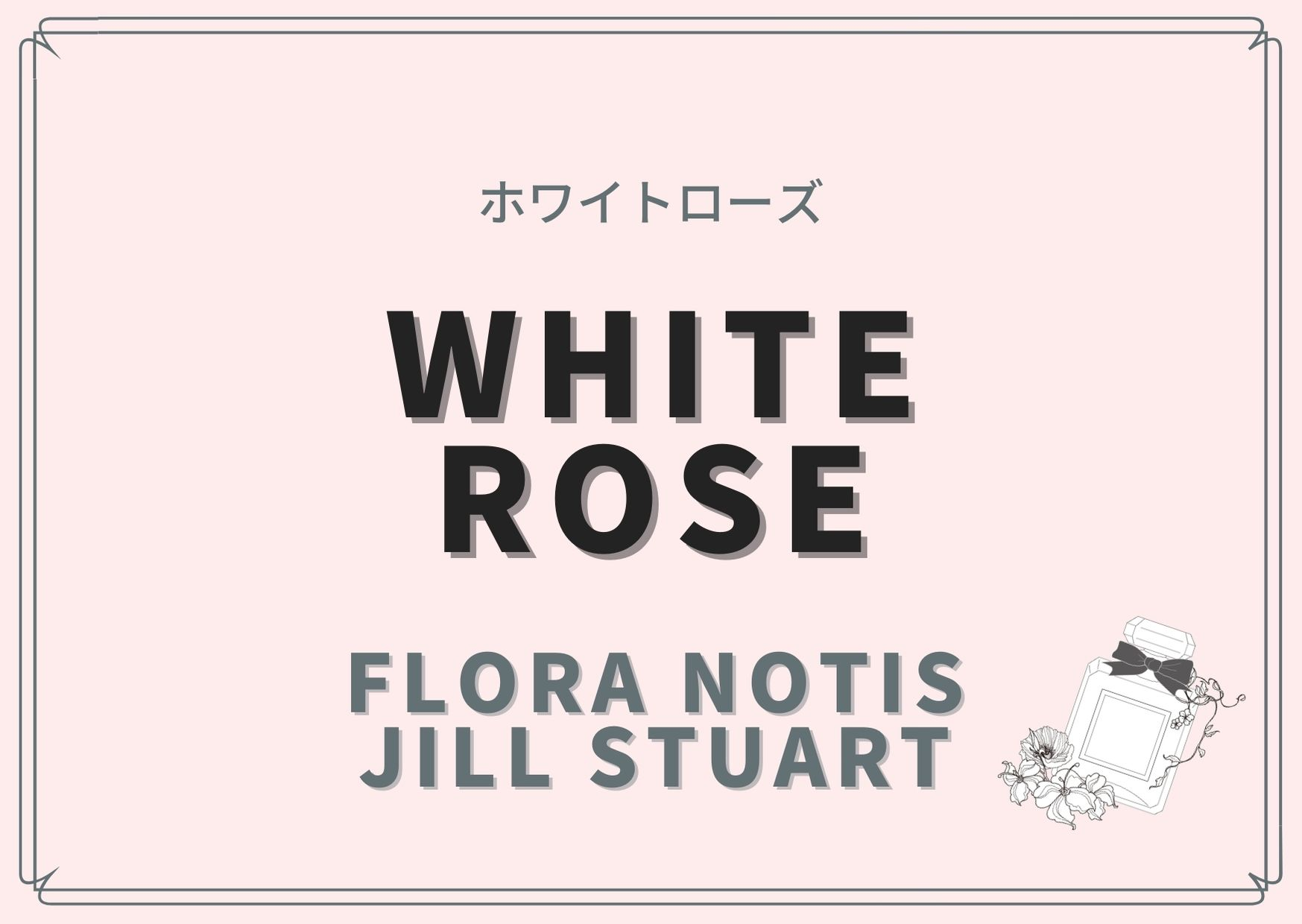 White Rose(ホワイトローズ)/Flora Notis JILL STUART