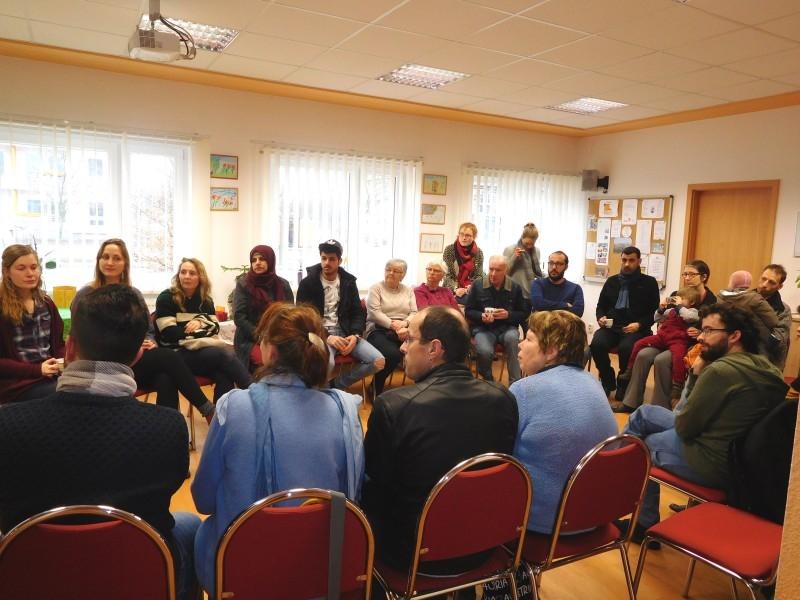 Beim Kennenlerntreffen am 18. Februar sammelten wir viele Ideen und Wünsche.