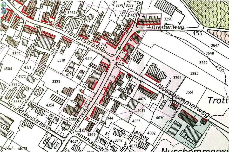 Oberstammheim - Ortsbild von nationaler Bedeutung