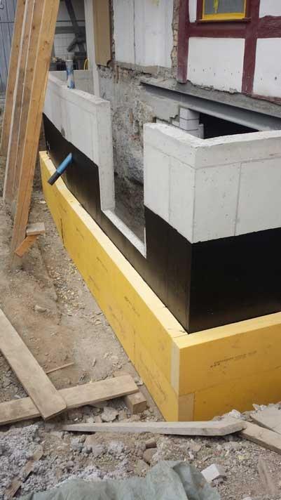 Kunst am Bau II – eine gekonnte Schalung.