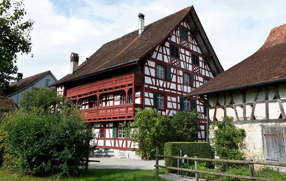 Gasthof Hirschen, Gartenansicht