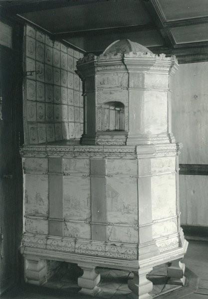 1926, Kachelofen im Haus zum Hirschen, 1. Stock