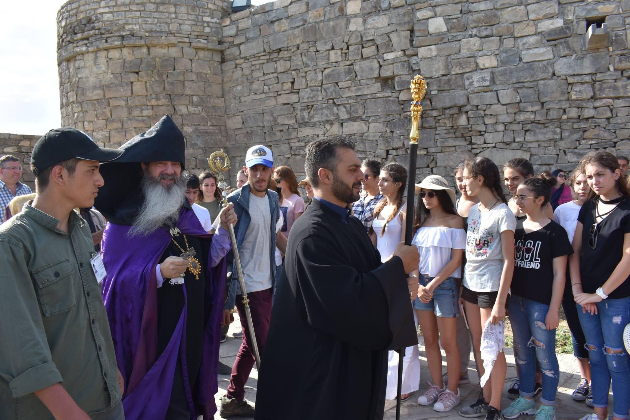 Wallfahrt Juli 2018, Quelle: Arm. Diözese in Aserbaidschan, Iran
