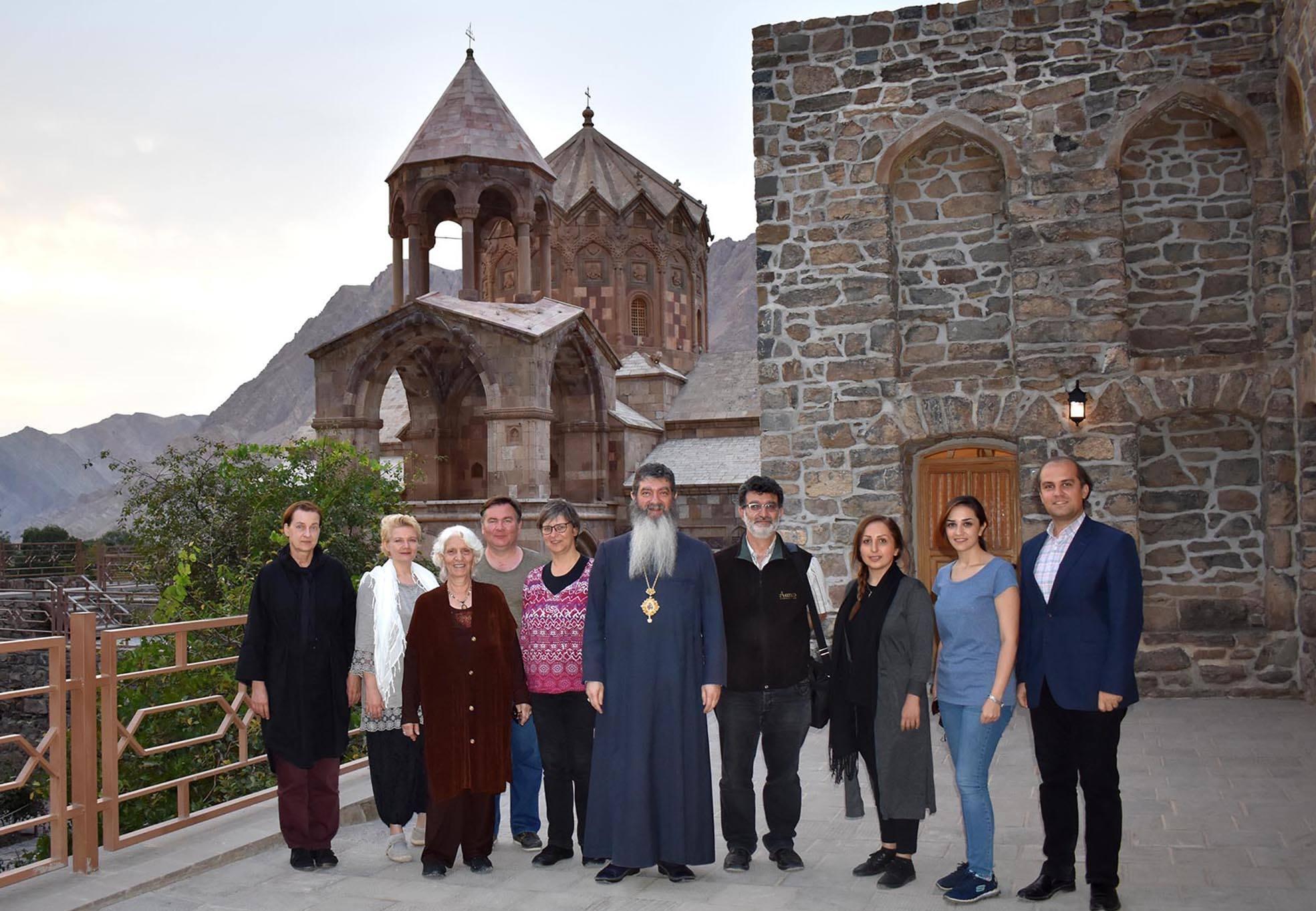 Kloster St. Stephanos, Gruppenbild zum Ende des Armenologie-Symposiums