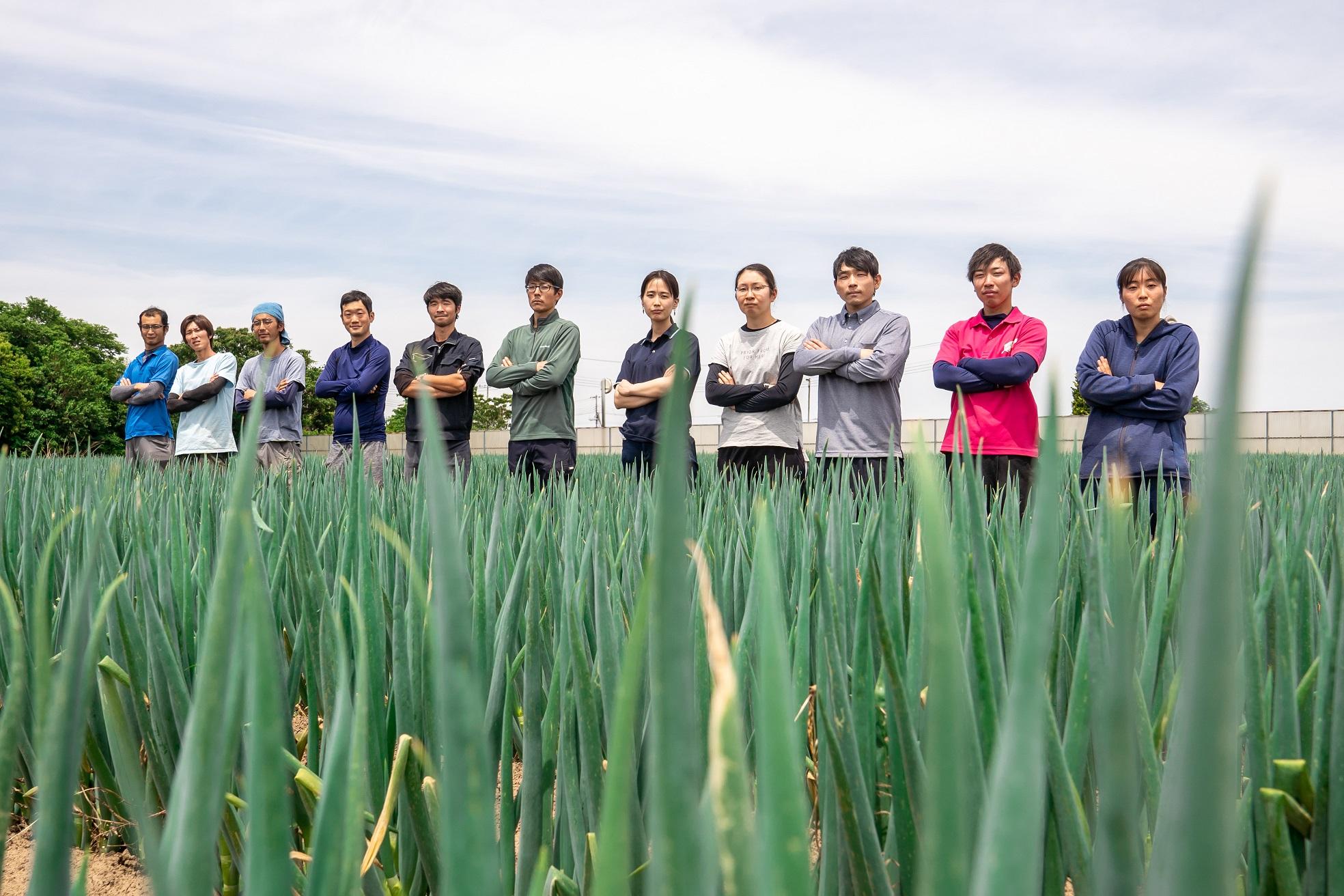 アルファイノベーション農業生産メンバー