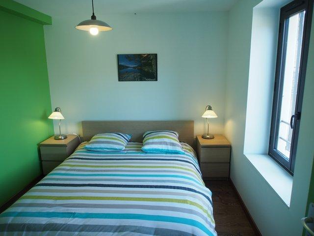 1er étage : chambre verte