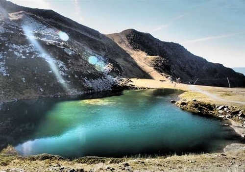Randonnée en Belledonne : Lac de vénetier