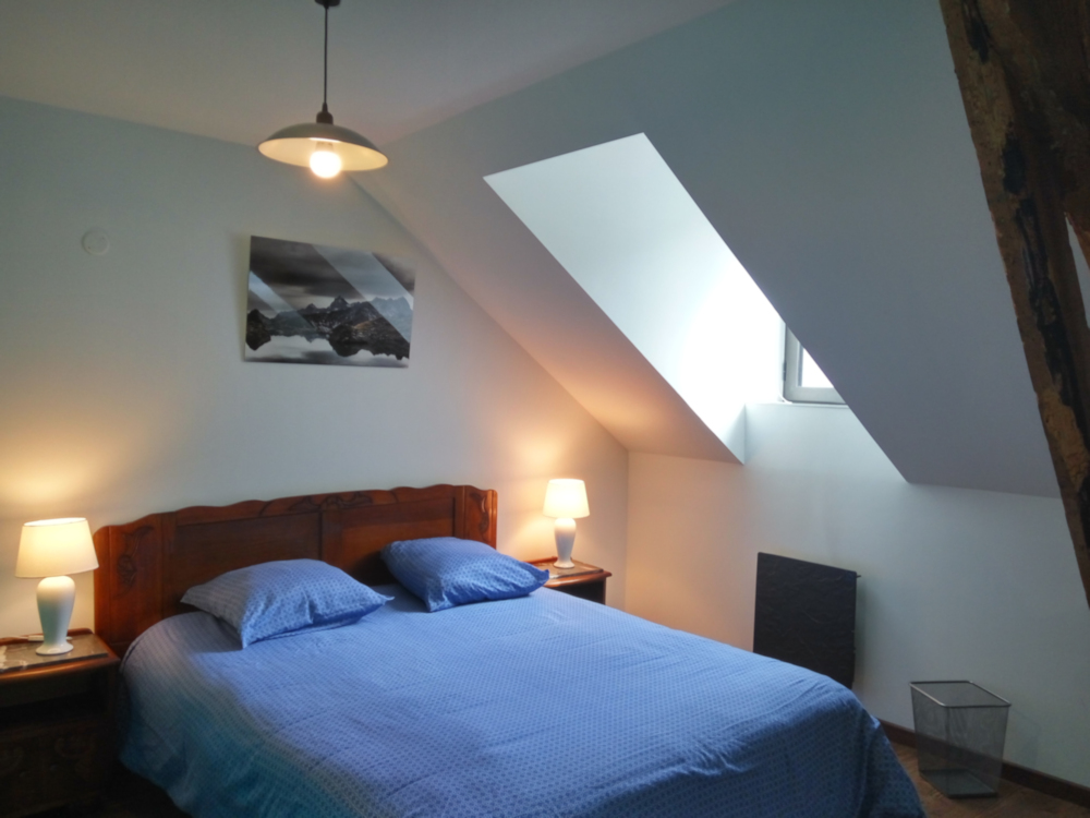 2éme étage : chambre bleu