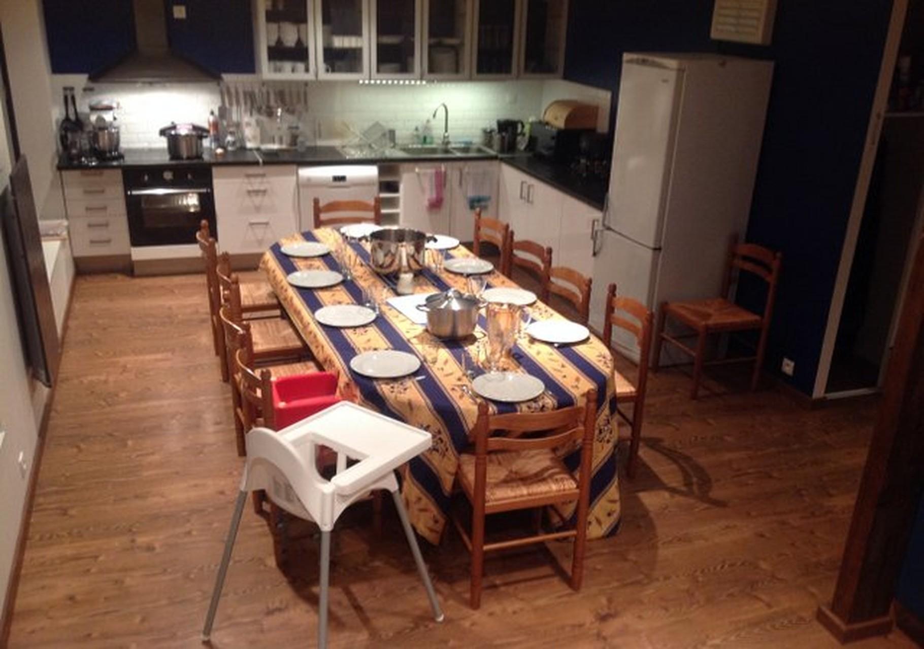 Gîte de Belledonne 1 : la table est mise