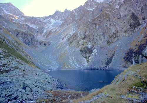 Le lac de Crop EN belledonne