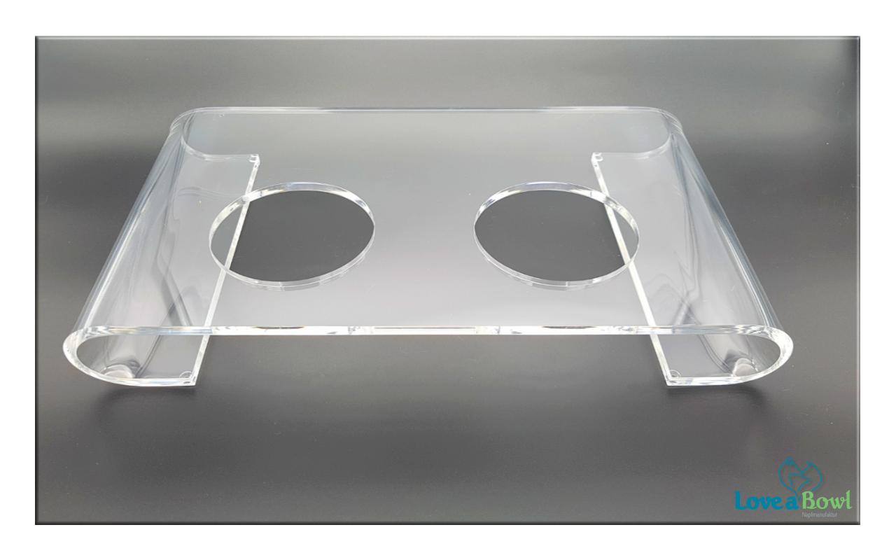 Acrylglasplatte in 4 Farben erhältlich