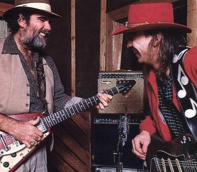 Lonnie Mack et Stevie Ray Vaughan.