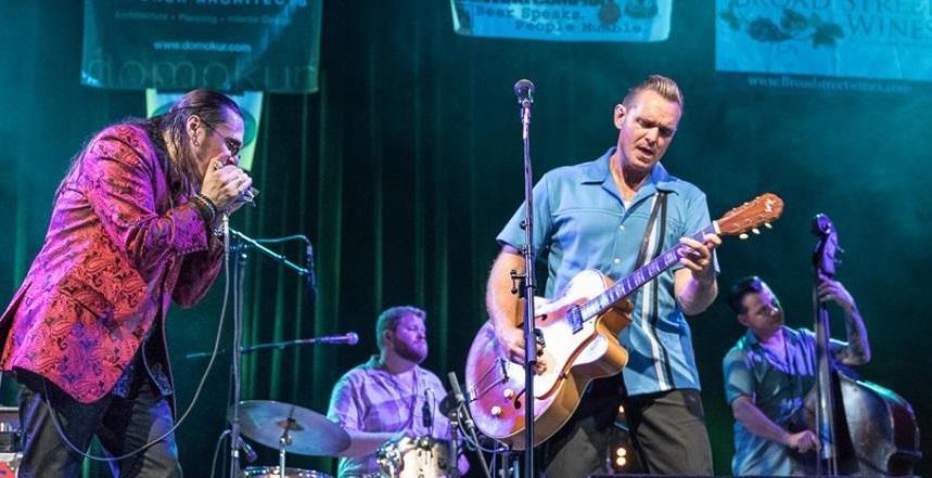 Doug Deming & The Jewel Tones feat Dennis Gruenling.