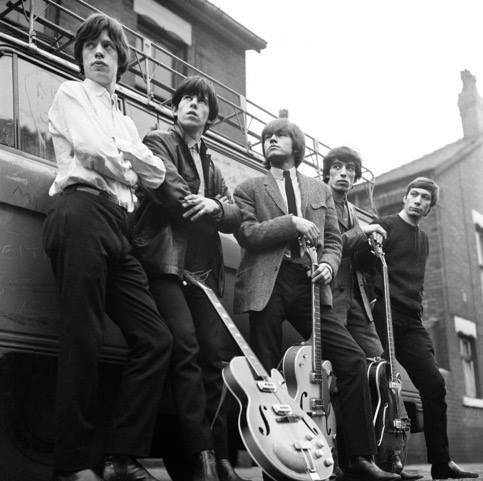 Le groupe à Londres debut 1964. Mirrorpix.