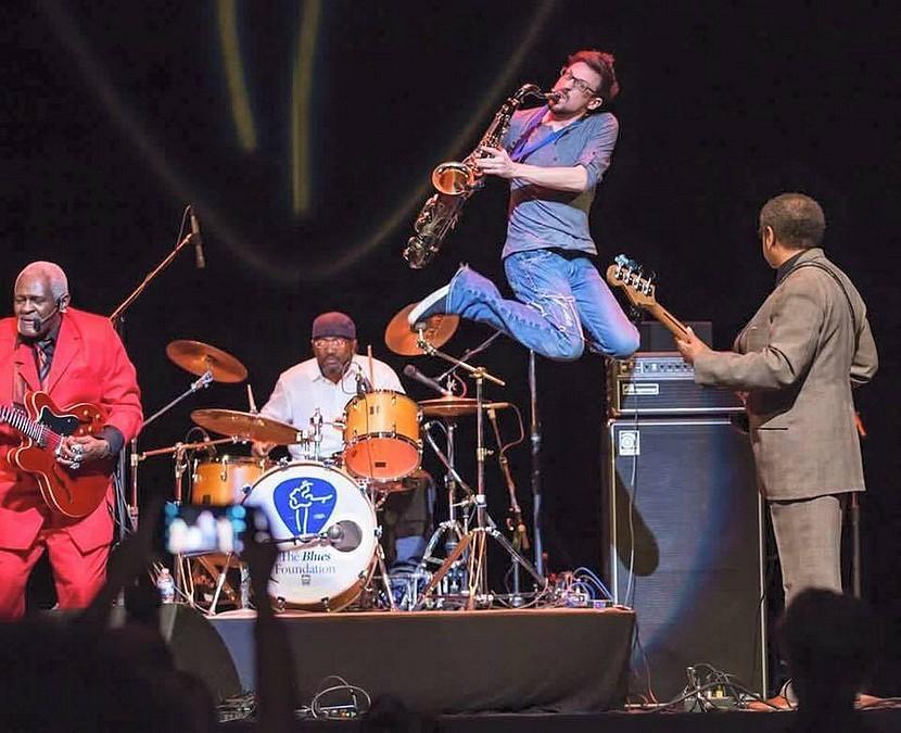 The Norman Jackson Band à l'IBC. 2016.