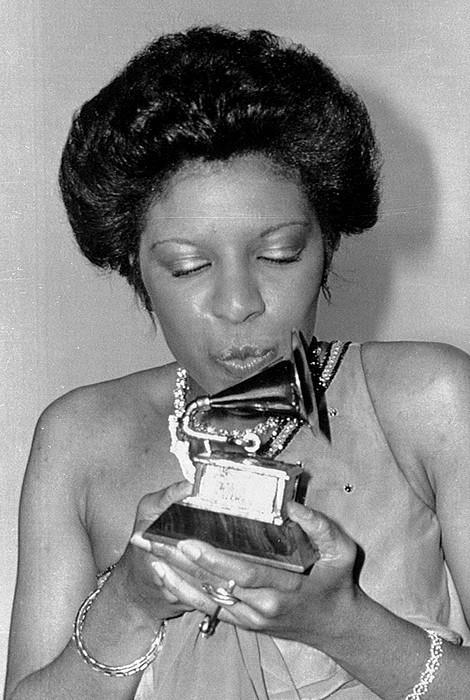 Premier Grammy en 1976.