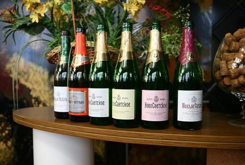 Дегустация шампанского в Новом Свете