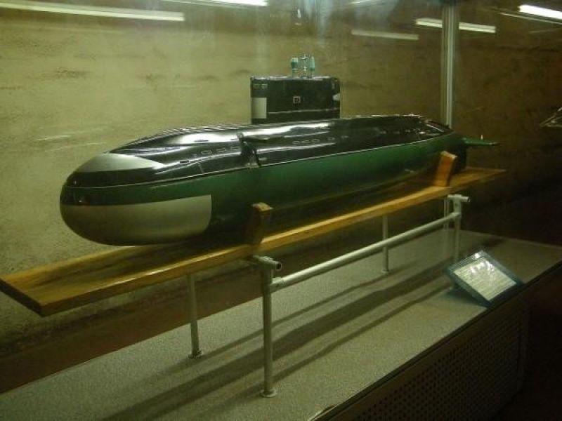 Музей подводных лодок в Балаклаве. Штольни