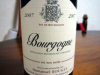 ルジェのブルゴーニュ2007