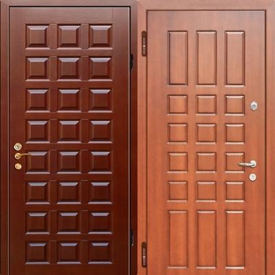 Дверь серии МДФ № 21.