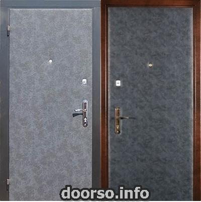 Недорогой тип отделки двери Руза.