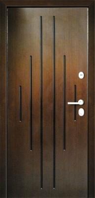 МДФ № 22. металлическая дверь город Руза.