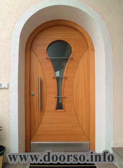 Арочная металлическая дверь Москва.