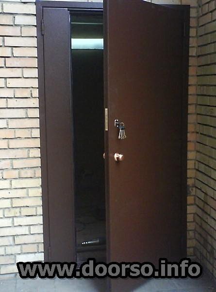 металлические подъездные двери