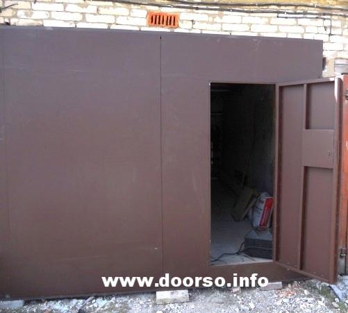 распашпые гаражные ворота ворота город Можайск.