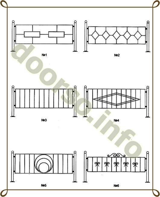сварная ограда недорого.