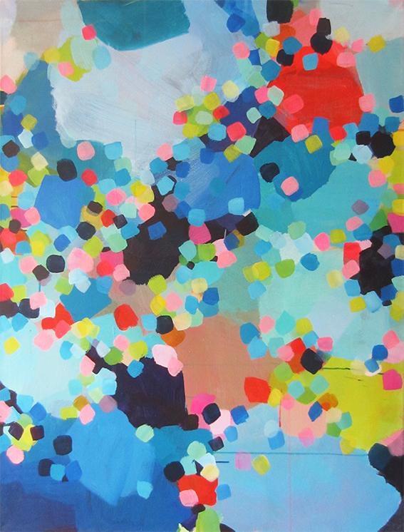 ohne Titel, 120 x 90, Acryl auf Leinwand, 2017