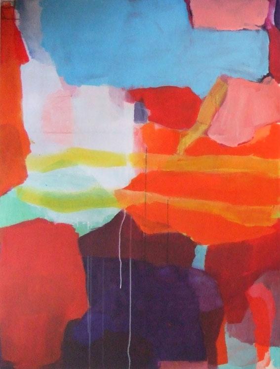 ohne Titel, 145 x 110 cm, Acryl auf Leinwand, 2012