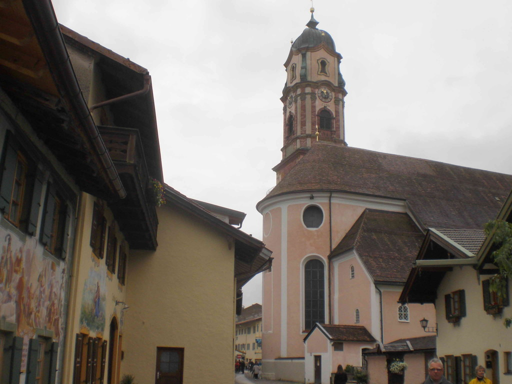 Pfarrkirche in Mittenwald